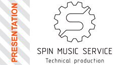 Presentation Spin Music Service