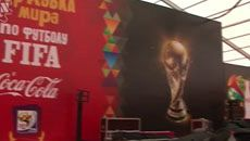 Presentation of FIFA World Cup as a part of the World Tour arranged to coincide with WCM-2010 (Coca-Cola)
